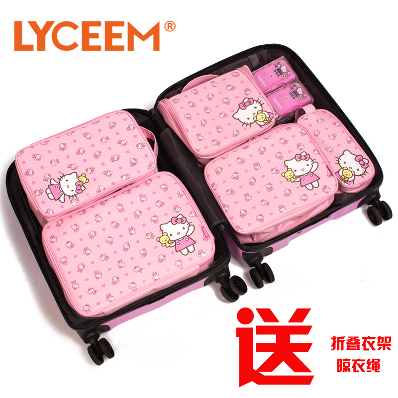 Buy Hello kitty hello kitty cute cosmetic bag travel toiletry kits suit  female admission package travel outdoor supplies in Cheap Price on  m.alibaba.com d20a68667d