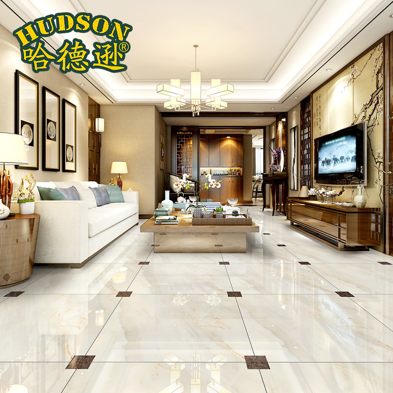 Buy Strong Quintana Diamond Marble Tile Floor Tile Living ...