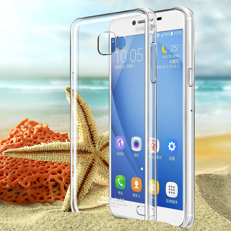 Buy Imak samsung galaxy c7 mobile phone shell transparent