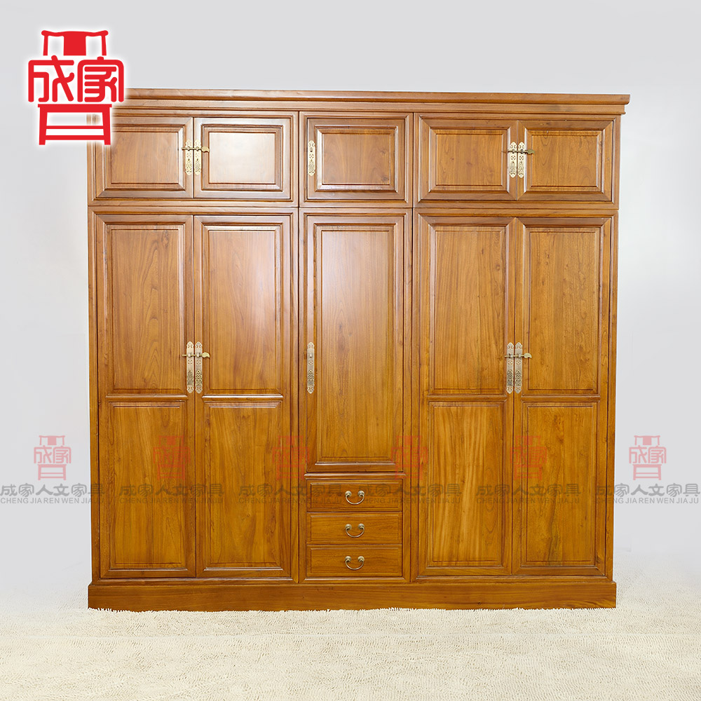 Buy Jiacheng New Chinese Antique Old Elm Wood Furniture Five Door Special  Wardrobe Modern Wardrobe Closet Chinese In Cheap Price On M.alibaba.com