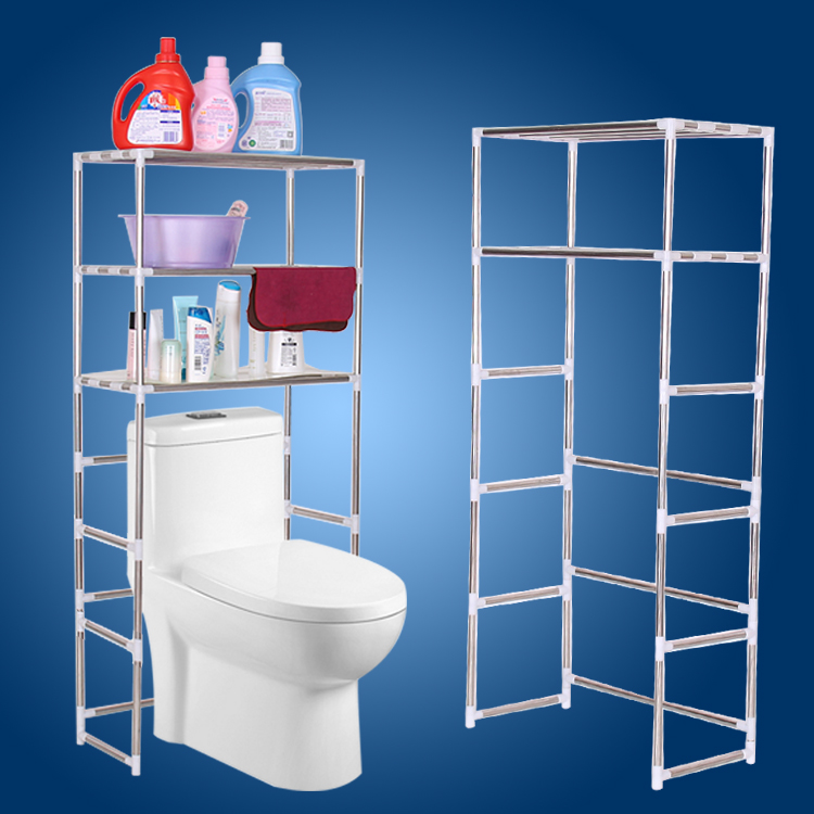 Buy Washing machine racks bathroom toilet bathroom shelf bathroom ...