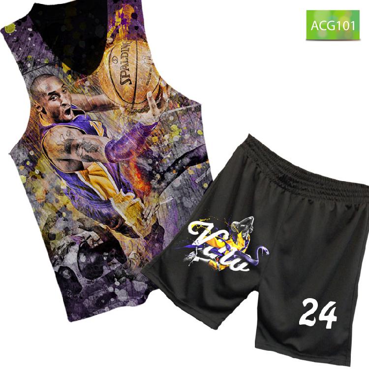 Buy Kobe bryant jersey vest t-shirt ACG101 kopeck kobetæ ...