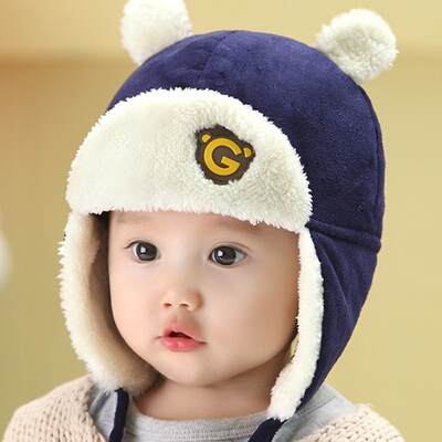 fef3cc651f442 Buy Korean baby hat baby cap infant plush ear cap winter hat newborn baby  hat children lei feng cap po po in Cheap Price on m.alibaba.com
