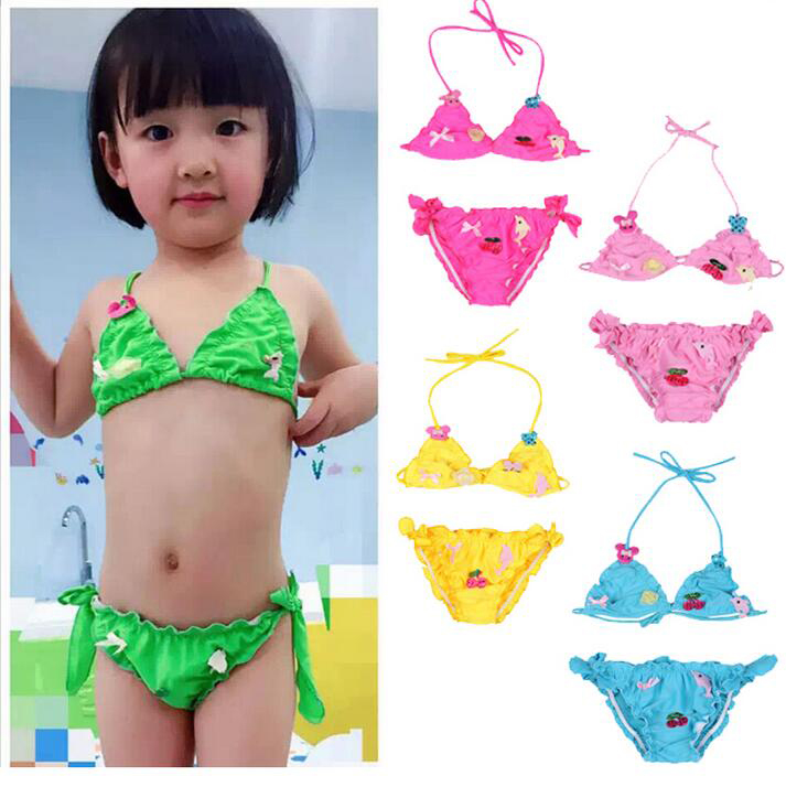 5b8ccb2565 Buy Korean children's swimsuit girls bikini swimsuit cute princess baby  girls split the baby swimsuit free shipping in Cheap Price on m.alibaba.com