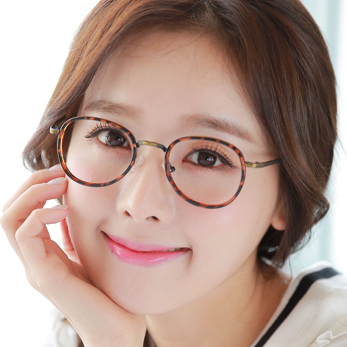 3e20388f5b1b Korean version of the finished myopia glasses retro glasses frame female  tide round female student literary ultralight round frame glasses  chromotropic