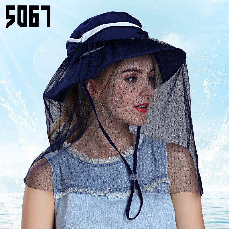 824ca0171e6d1 Buy Korean women summer hats sun visor cap mesh collapsible sun hat  covering her face uv travel youth in Cheap Price on m.alibaba.com