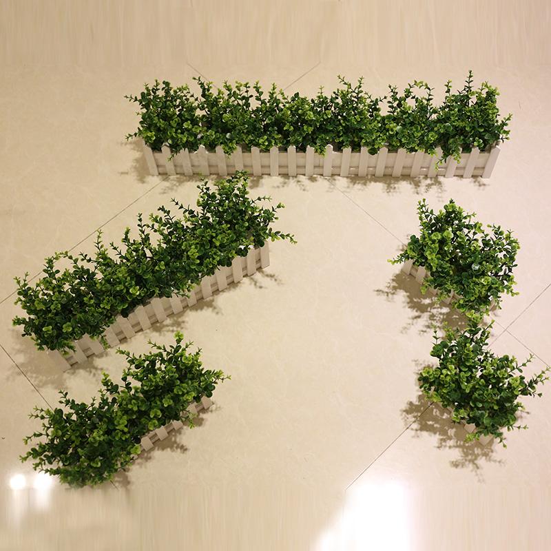 Buy Leaves Money Plant Simulation Suite Fence Plastic Flowers