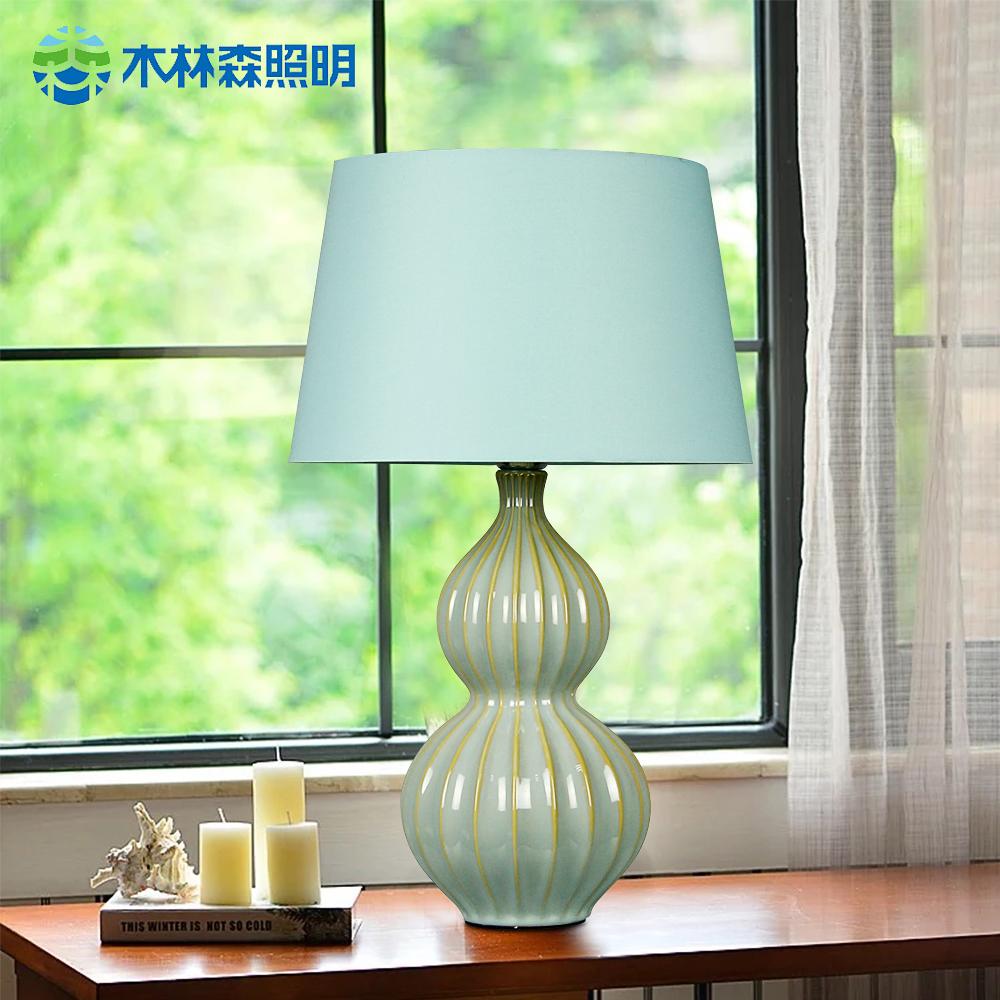 Buy Linsen lighting ceramic table lamp table lamp american ...