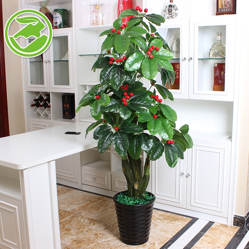 Buy Lucky Fruit Trees Flower Simulation Flowers To Suit Artificial Flowers  Artificial Flowers Plastic Flowers Tall Decorative Pots Planted Bonsai  Living ...