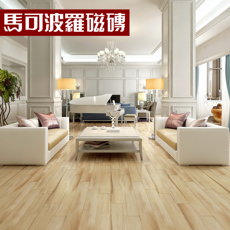 Tile Floor Tiles Imitation Wood Grain