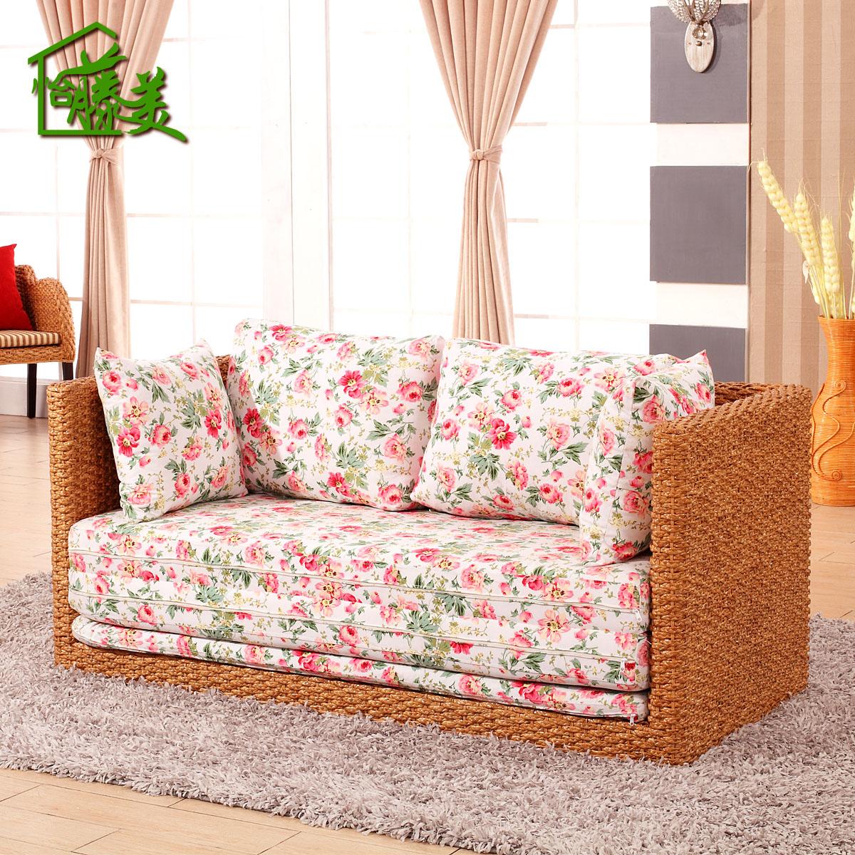 Buy Mei Yi Rattan Furniture Rattan Cane Rattan Sofa Bed