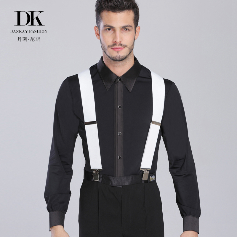 eee03e05d60d Buy Modern dance tops practice ballroom dancing competition show clothing  long sleeve shirt men's latin modern practice in Cheap Price on  m.alibaba.com