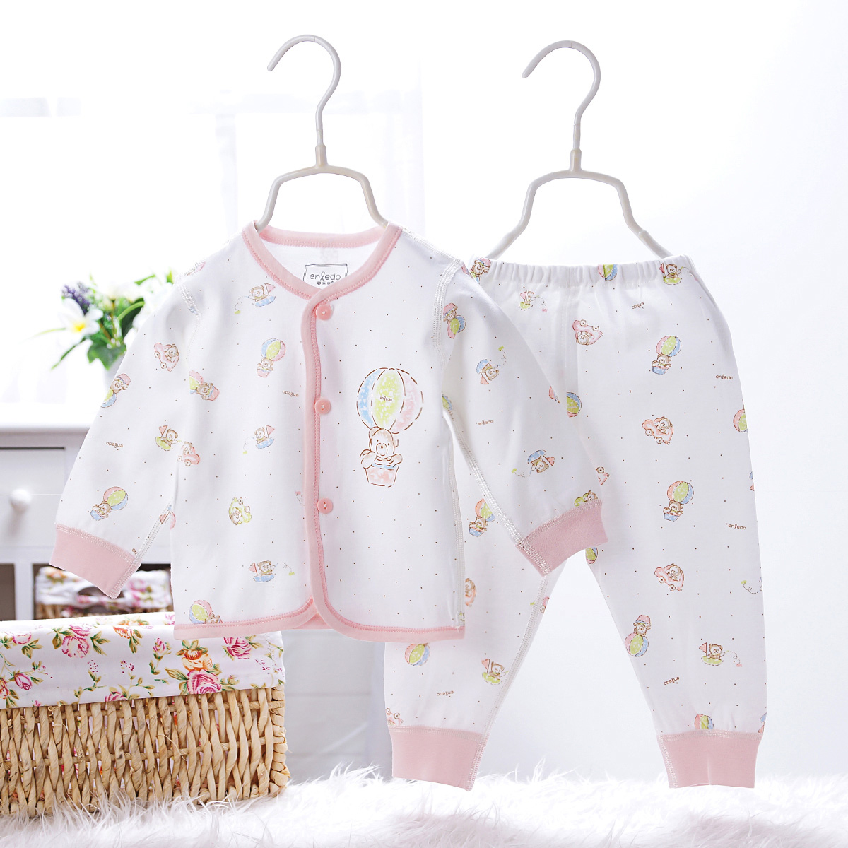 34bd01131481 Buy Newborn baby clothes newborn baby underwear autumn clothes suit long  sleeve spring models cotton baby suits for men and women in Cheap Price on  ...