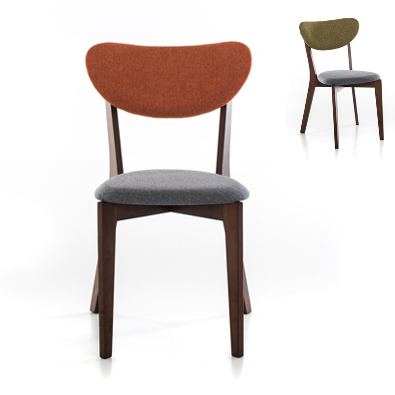Buy Nordic Wood Dining Chairs Modern Minimalist Home Study Color