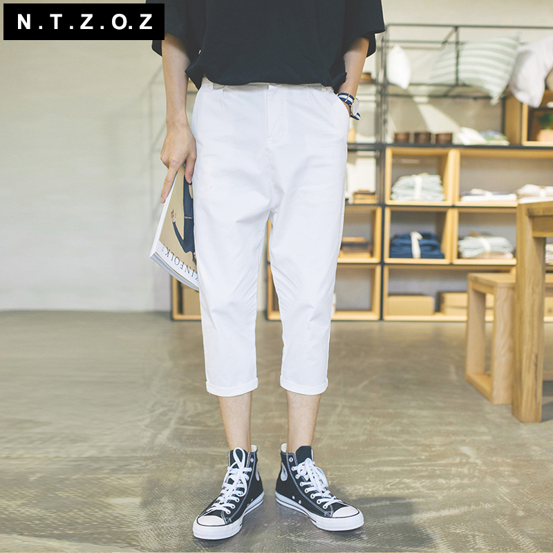 Buy Ntzoz Original Amoi Men Influx Of Men Casual Solid Color Jeans