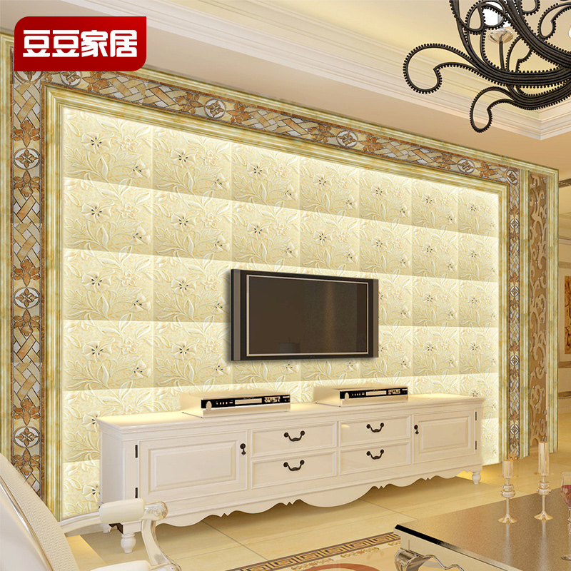 Buy Department of luxury tile backdrop continental simple 3d living ...
