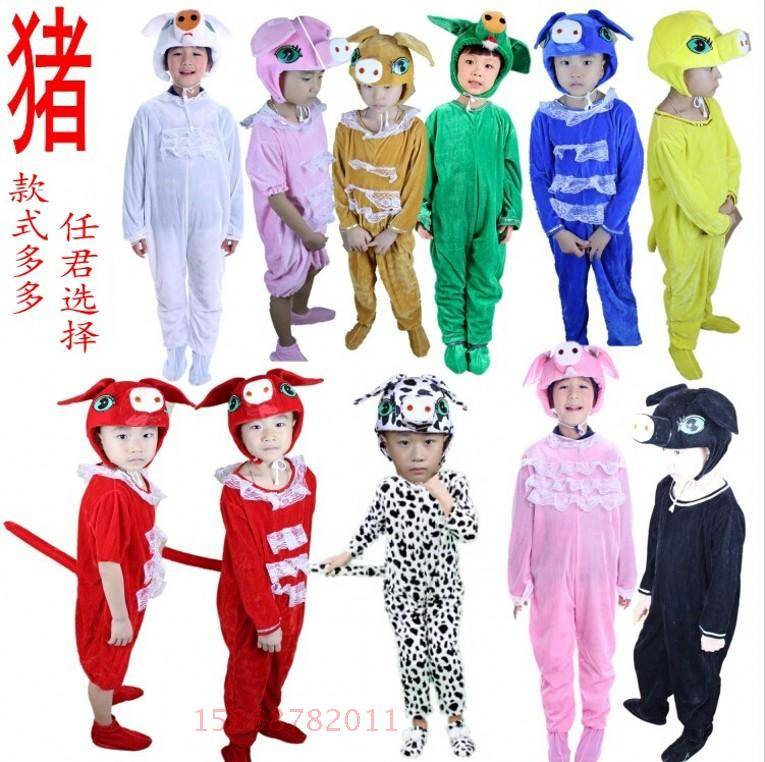 Buy Pig cartoon animal costumes for children kindergarten performance clothing white three little pigs costumes dance style clothes in Cheap Price on ...  sc 1 st  Alibaba & Buy Pig cartoon animal costumes for children kindergarten ...