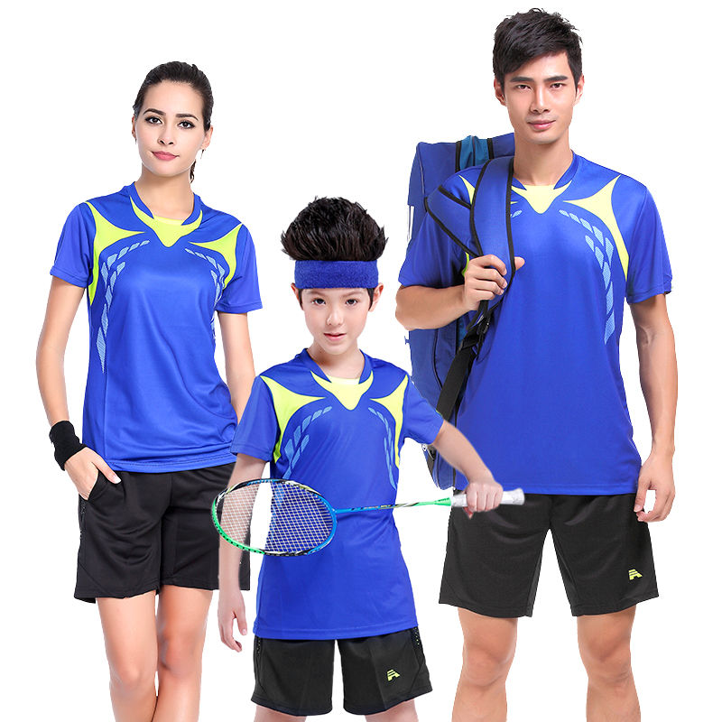 Buy Pittsburgh sharp badminton clothing suits for men and women tennis clothes  badminton sportswear clothing custom clothing summer lovers short sleeve in
