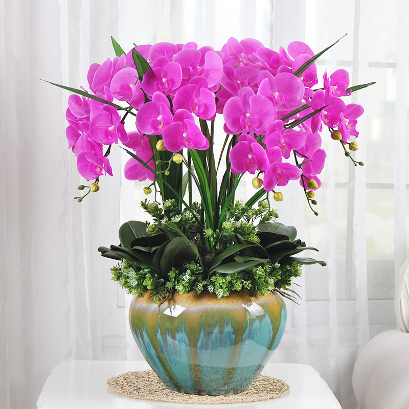 Buy Plucking chinese phalaenopsis suit artificial flowers artificial ...