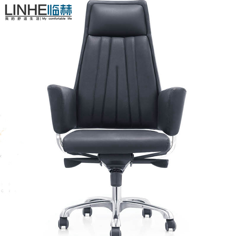 Pro He Office Furniture Leather Chair Boss Swivel Executive Chairs