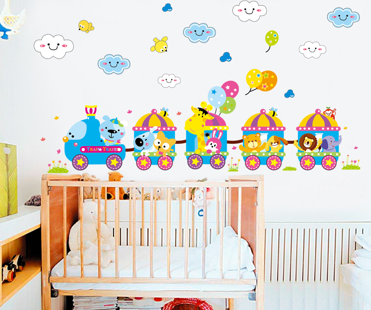 Removable Wall Stickers Cartoon Children 39 S Room