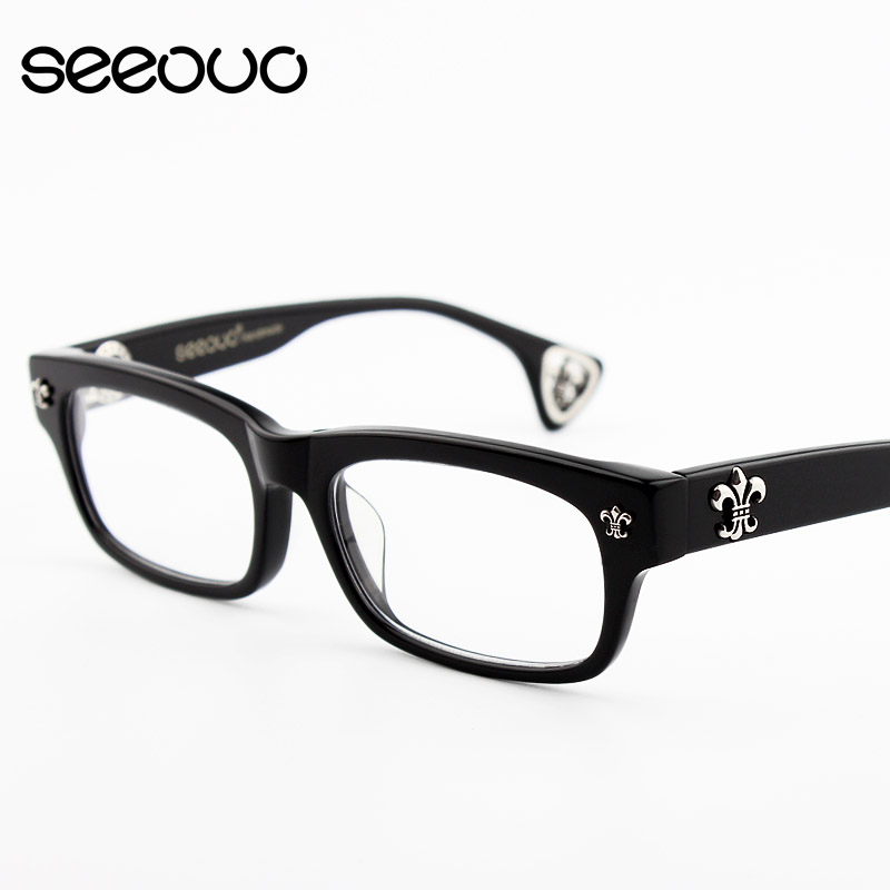 81376e53b1 Retro big face rimmed eyes box frames myopia tr90 lightweight eyeglass frames  for men influx of male and female models with glasses