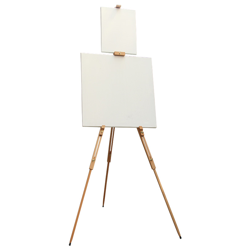 Buy Sheng beech triangle portable folding easel painting wooden ...