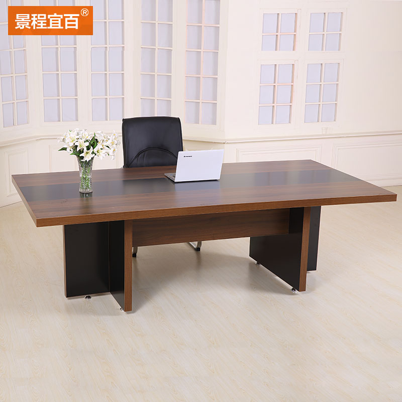 Buy Simple Wood Tables And Chairs Long Table Meeting Table - Small conference table with chairs