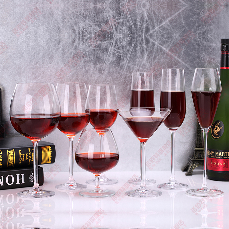 Buy Snow bai unleaded crystal glass goblet of red wine bordeaux ...
