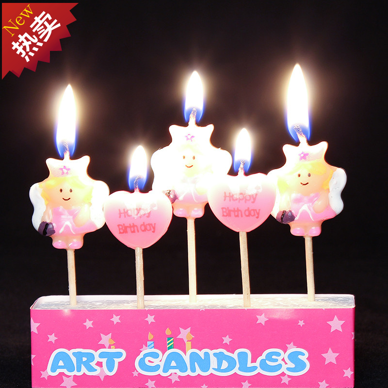 Special Childrens Birthday Party Supplies Baby Candles Digital Candle Small Princess