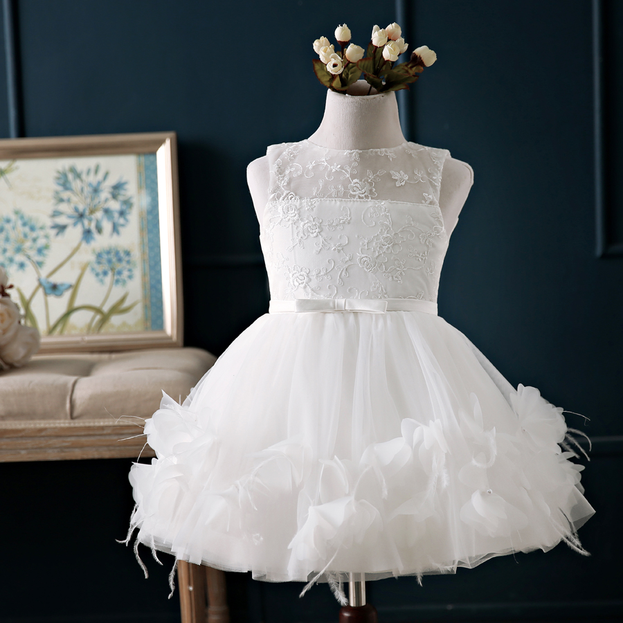 Buy Children Princess Dress Wedding Flower Girl Dresses Girls