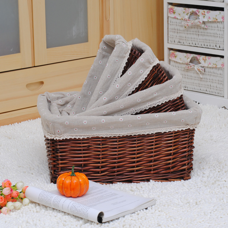 Buy Storage Baskets Rattan Storage Basket Of Dirty Clothes Basket