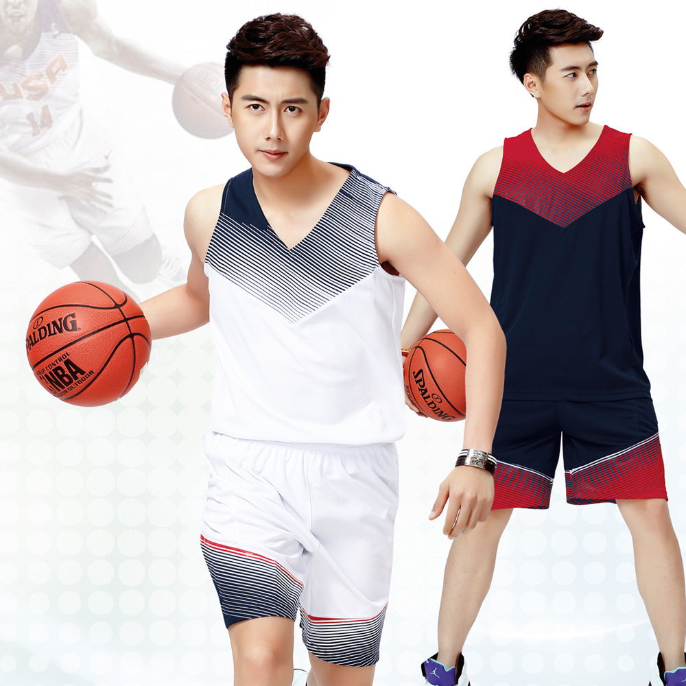 dc6f02997 Buy 14 new men  39 s team usa basketball uniforms dream eleven empty plate  diy custom basketball clothing basketball game jersey training suit in  Cheap ...