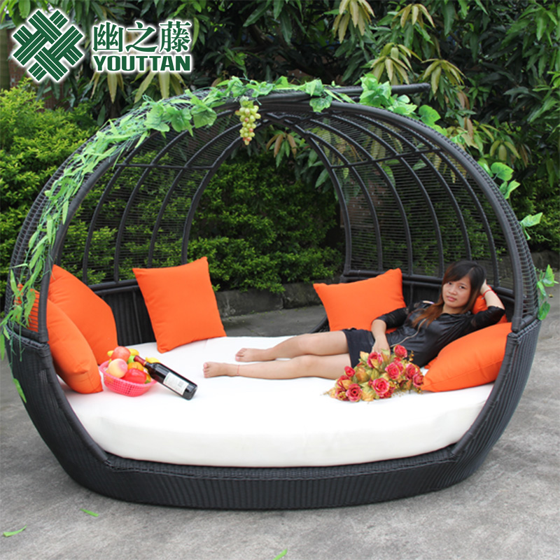 Buy Teng Secluded Outdoor Outdoor Sun Terrace Sofa Bed Round Bed