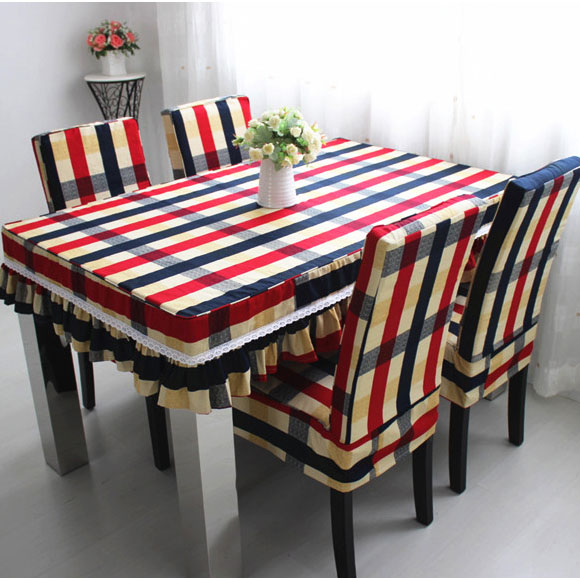 To Woo Siamese Coverings Coffee Table Cloth Cover Tablecloths Suit Modern Minimalist Dining Chair Cushion Covers In