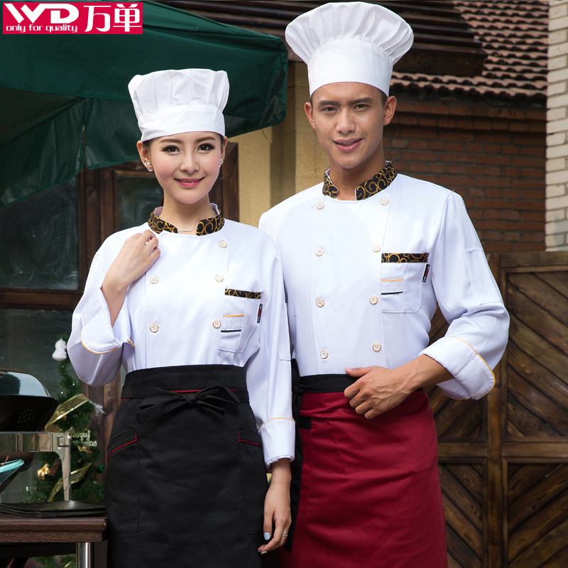 Restaurant Kitchen Uniforms buy after the fall and winter clothes kitchen chef service hotel