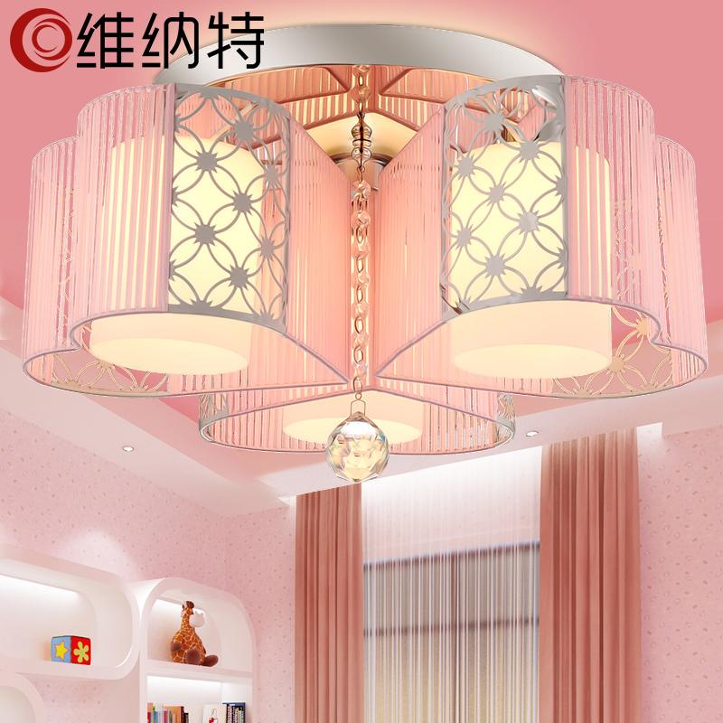 Led Crystal Ceiling Lamp Round Modern Minimalist Master Bedroom Lamp Warm Romantic Room Lamp Restaurant Lighting Ceiling Lights & Fans Back To Search Resultslights & Lighting