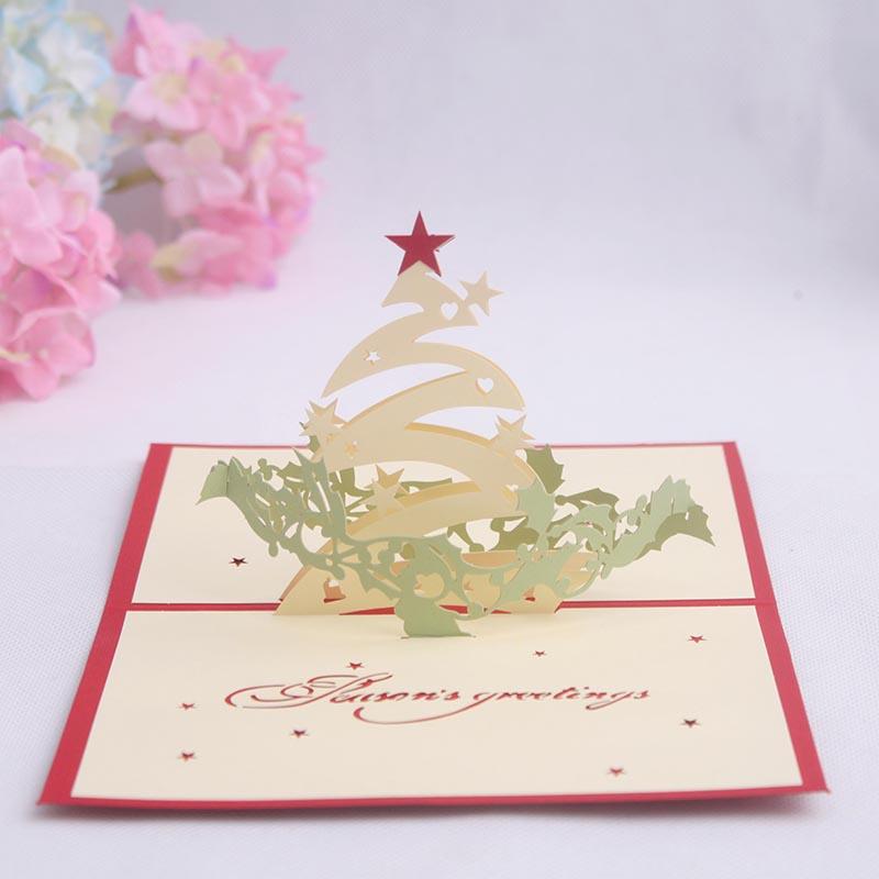 Christmas Bday Cards.Buy Wishing Star Christmas Tree Birthday Love Korea Creative