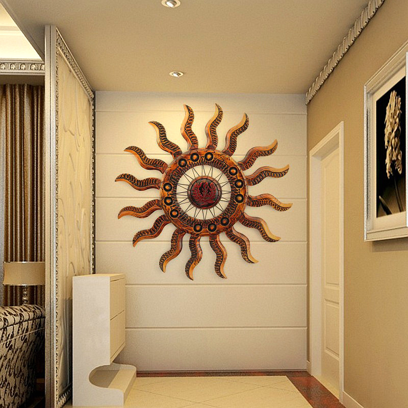 Buy European creative living room entrance wall decoration crafts ...