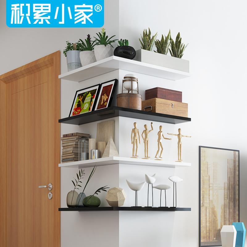 Buy Word board wall creative living room corner shelf corner shelf ...