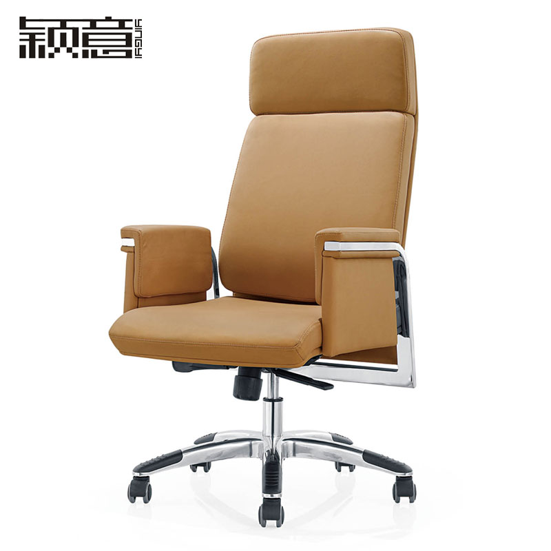 Ying Italian Office Furniture Modern Minimalist Boss Leather Swivel Chair Manager Sipi In Price On M Alibaba