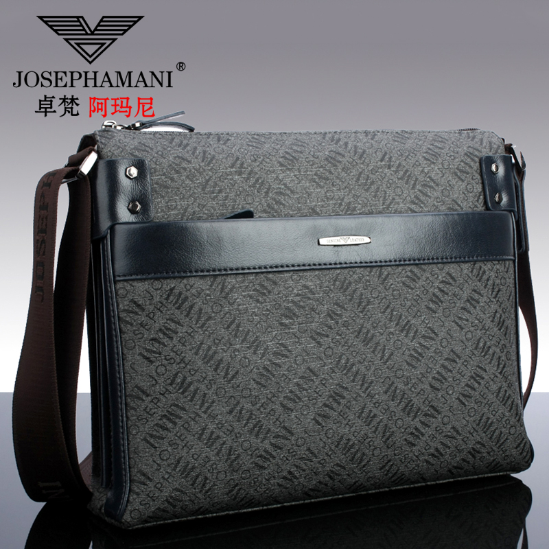 Buy Zhuo fan armani man bag cross section genuine business casual men  39 s  shoulder bag messenger bag korean fashion printing in Cheap Price on  m.alibaba. ... 303d609036c4d