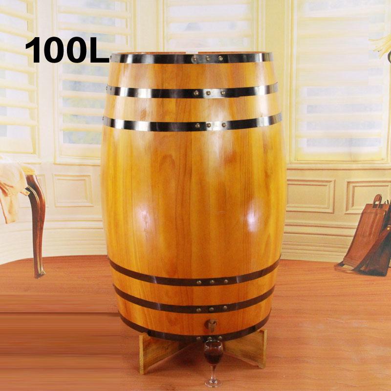 Buy 100l Oak Barrels Decorative Wooden Props Wooden Kegs Vertical