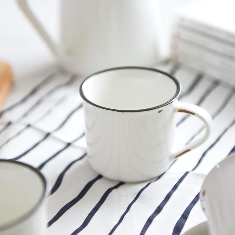 日式厨房置物架家用马克杯沥水架套装挂架 创意榉木水杯架子 杯架