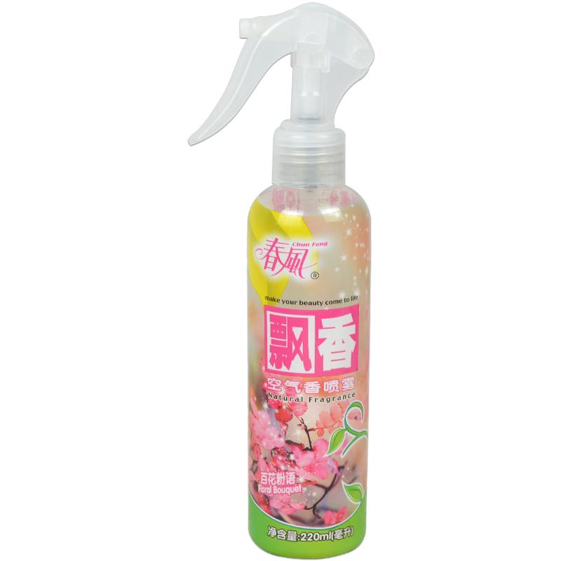 春风室内空气清新剂喷雾罐家用除烟味清香剂汽车宠物用芳香除臭剂