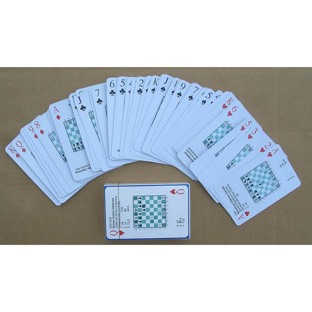 國際象棋開局撲克牌 52種開局方式 加拿大國際象棋大師設計