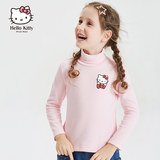 hellokitty children's clothing 2019 girls winter clothing new foreign style children's turtleneck warm long-sleeved knitted bottoming shirt