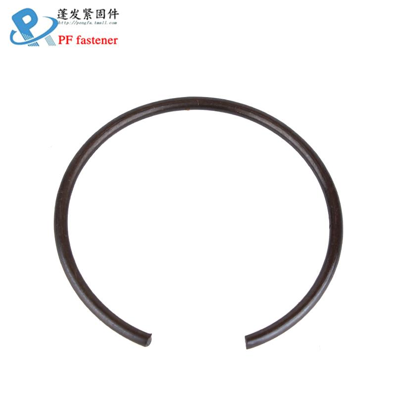 蓬发五金70锰钢丝GB895.1孔用钢丝挡圈止动环卡簧¢8-¢65