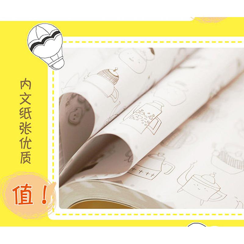现货简笔画幸福手绘10000例 一学就会幼儿童简笔画大全3-12岁学画画儿童画幼儿园入门教程卡通画少儿幼师教学美术培训教材正版书籍