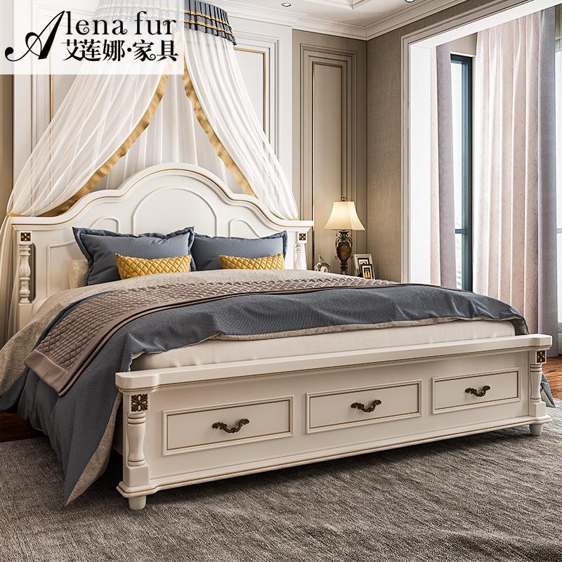 艾莲娜美式床双人床选购的4个技巧,防止被忽悠